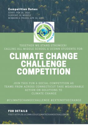 Climate Change Challenge Competition flyer