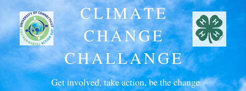 climate change challenge banner
